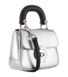 Accessories: Top Handle Bags Burberry Mini Metallic DK88 Top Handle Bag