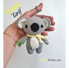 bi next sharing will be koala rattle recipe 😉. : bi next sharing will be koala rattle recipe 😉. Thanks for the recipe ❤. Crochet Gifts, Crochet Toys, Crochet Baby, Free Crochet, Amigurumi Patterns, Mini Amigurumi, Crochet Keychain, Crochet Buttons, Crochet Dolls