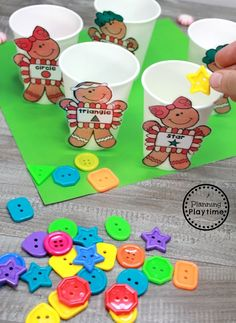 Gingerbread Man Printables and Centers - Shape Sorting We hope you loved these preschool cooking theme activities as much as we do. You can find them to purchase below. Preschool Christmas Activities, Gingerbread Man Activities, Gingerbread Crafts, Preschool Themes, Preschool Activities, Preschool Cooking, Gingerbread Men, Winter Activities, Cooking In The Classroom