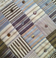 Selvage Blog: Shirting Quilt