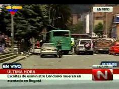 Santos asegura que atentado en Bogotá iba dirigido al exministro colombiano Londoño