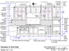 Interior Designers Drawings elevation drawings cabinet detail drawing size interior design