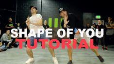 """SHAPE OF YOU"" - Ed Sheeran Dance TUTORIAL   Matt Steffanina x Phillip Chbeeb Choreography - YouTube"