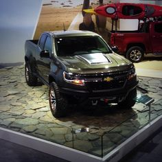 The Colorado ZR2 Concept: The New Symbol of 4-Wheel Fun. Here for display @LAAutoShow #Chevy #Colorado #ZR2