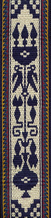 Tablet Weaving | Persian Motifs | Linda Hendrickson