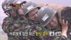 진짜 사나이- 오늘의 제1코스: 고통스러운 '목봉체조' 11회 #05 20130623