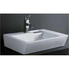 Abbett Rectangular Porcelain Vessel Sink Pinterest And Sinks