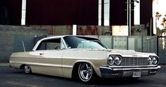 Check out this slick '64 Chevy Impala custom