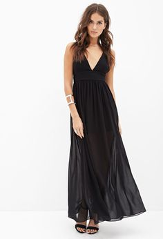 Strappy Crisscross Maxi Dress #F21StatementPiece $30 This is so pretty #stunning