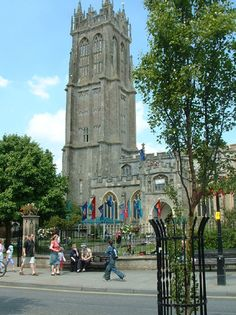 St. John the Baptist Church, Glastonbury England