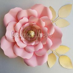 Check out this item in my Etsy shop https://www.etsy.com/listing/537759274/pdf-paper-flower-template-no7-paper