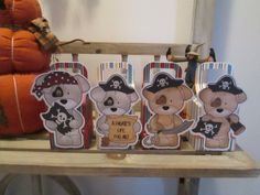 Milk carton favor box is perfect for your little pirates party. Puppies are not so scary. Box measures 5 inches tall not counting handle by 2 1/2 inches