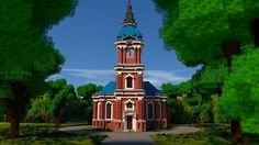 Schelfkirche [local church] Minecraft Project