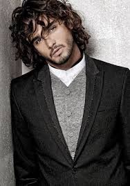 Image result for long hair and scruff