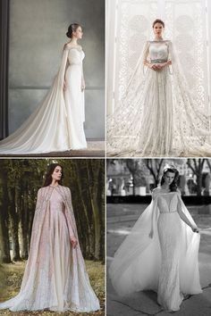 Glamorous and Romantic Fall Wedding Dress Trends!