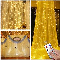 Christmas Window Lights with 8 Modes LED Warm White Twinkle Fairy Icicle Hanging Twinkly Curtain Star String Lights for Bed Canopy Indoor Outdoor Bedroom Wall Wedding Christmas Decoration *** See this great product. (This is an affiliate link) Led Icicle Lights, Star String Lights, Starry Lights, Indoor String Lights, Wall Lights, Christmas Window Lights, Canopy Bedroom, Bedroom Wall, Outdoor Bedroom