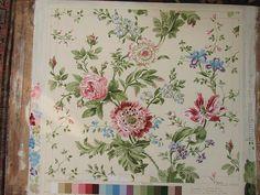 Sanderson Fabric artwork by philip jacobs, via Flickr