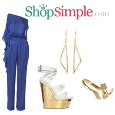 Who love this gorgeous jumpsuit #outfit? #summer chic  Get the jumpsuit now(US$89.90)--> http://shopsimple.com/MZB3ya