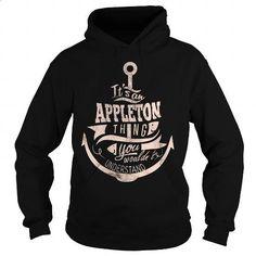 APPLETON - #hoodie #the first tee. GET YOURS => https://www.sunfrog.com/LifeStyle/APPLETON-98542894-Black-Hoodie.html?60505