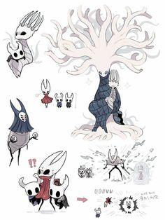 Character Concept, Character Art, Concept Art, Dark Souls, Team Cherry, Hollow Night, Hollow Art, Knight Art, Fantasy Creatures