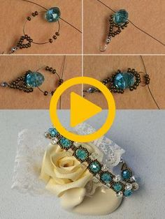 crystal beads bracelet, like it? The tutorial will be published by the LC. Beaded Necklace Patterns, Beaded Jewelry, Jewelry Bracelets, Seed Bead Bracelets Tutorials, Beading Tutorials, Crystal Beads, Crystals, Bead Weaving, Seed Beads