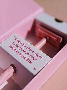 FULL BODY Safety razor — pink