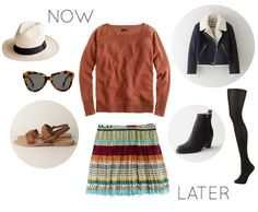 now & later, no.2 look via camp comfort