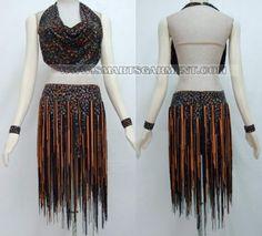 custom made latin dress