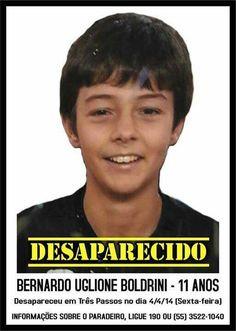 BERNARDO UGLIONE BOLDRINI - CASO BERNARDO