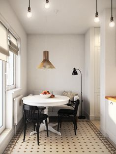 кухня в нтерьере 1-комнатной квартиры