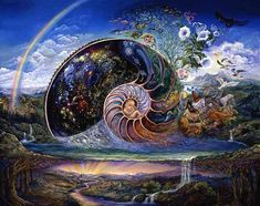 ... where the material realm is the perfect mirror of the Divine Love.
