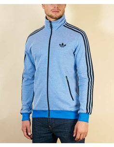 light blue adidas jacket