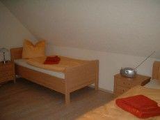 Ferienhaus Sanddorn  - Rügen Kinderschlafzimmer mit zwei Einzelbetten