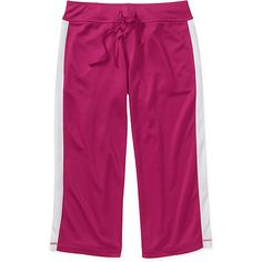 Danskin Now Women's Plus-Size Mesh Capri Pants