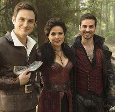 Andrew, Lana & Colin bts