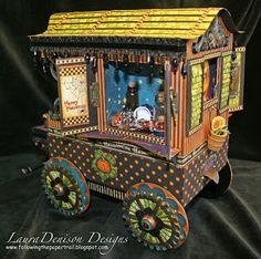 The Paper Trail: Gypsy Caravan view 2
