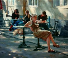 Kai Fine Art is an art website, shows painting and illustration works all over the world. Hyper Realistic Paintings, Various Artists, New Beginnings, Figurative Art, Artist At Work, Views Album, Contemporary Artists, Female Art, Illustration