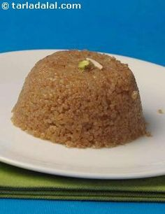 This fabulously tasty gujarati sweet features the goodness of broken wheat and the tantalising aroma of cardamom. It is a hot favourite across the world!