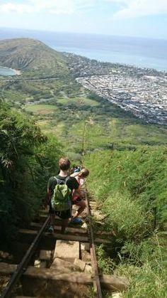 Koko Crater Trail - Honolulu  http://www.everytrail.com/guide/koko-head-crater-trail