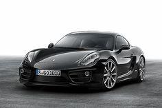 ポルシェ、内外装をブラックで統一した「ケイマン ブラックエディション」 - Car Watch