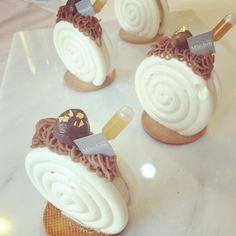 Cocina – Recetas y Consejos Small Desserts, Fancy Desserts, No Cook Desserts, Pastry Design, Individual Cakes, Beautiful Desserts, Pastry Recipes, Confectionery, Mini Cakes