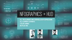 nfographics  HUD (Infographics)  After Effects Templates #aftereffects