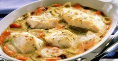 Kabeljau-Gemüse-Auflauf ist ein Rezept mit frischen Zutaten aus der Kategorie Meerwasserfisch. Probieren Sie dieses und weitere Rezepte von EAT SMARTER!