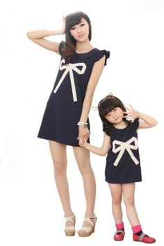 Fashion Mommy and Me Matching Outfits Sleeveless Dresses with Bow Decoration (11, L) ROSEMANDY Apparel,http://www.amazon.com/dp/B00CQZBSEY/ref=cm_sw_r_pi_dp_RIx3rb18W0WDK9X7