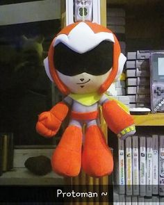 Shared by krizeros #nes #microhobbit (o) http://ift.tt/2meHlTk day 132: A protoman plush that my best friend got me while he was visiting me here in Canada! One of my favourite items in my gaming collection.  X X X X X #protoman #megaman #megamanx #nintendo #capcom #plush #plushie #gaming #toys  #snes #supersmashbros