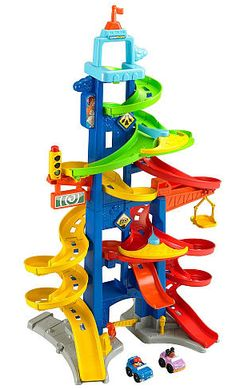 Fisher-Price Little People City Skyway Standing over 3 Feet Tall, this Play Set Ramps up the Zipping, Zooming Racing. Fisher-Price Little People City Skyway Standing over 3 Feet Tall, this Play Set Ramps up the Zipping, Zooming Racing. Jouets Fisher Price, Fisher Price Toys, 3 Year Old Boy, Toys For 1 Year Old, Gifts For Boys, Toys For Boys, Little Boy Toys, Girls Toys, Best Christmas Toys
