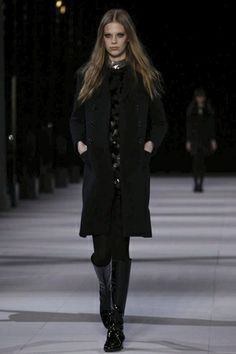 Saint Laurent Paris F/W 14.15 Paris - the Fashion Spot