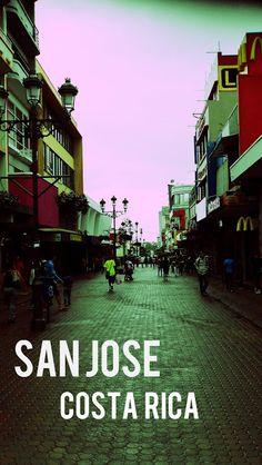 San José es la capital de Costa Rica. San José es la ciudad más grande naciones. San José es el punto focal de la actividad política y económica.