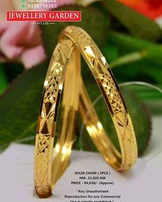 Gold Temple Jewellery, Gold Wedding Jewelry, Gold Jewelry Simple, Gold Jhumka Earrings, Jewelry Design Earrings, Gold Bangles Design, Gold Jewellery Design, Solid Gold Bangle, Gold Plated Bangles