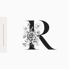 Rachel Rhode Monogram by Harper Maven Design \\ www.harpermavendesign.com